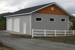 residential-garage-pole-Metal Storage Buildings