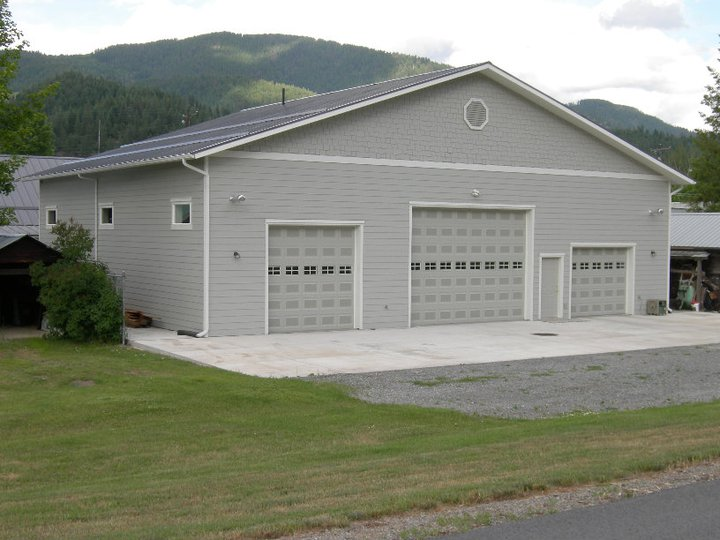 Steel metal buildings shops garages commercial for Garage and shop buildings