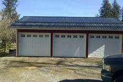 Three car garage Metal Storage Buildings