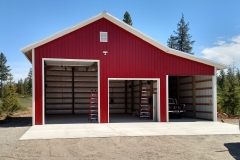 Large shop and garage Metal Storage Buildings