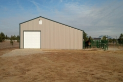 steel and Metal Barns by CDA Structures