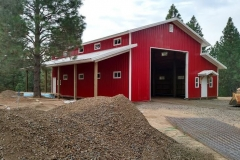 pole-building-steel Metal Barns agriculture