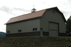 Metal and steel Barns agriculture