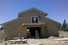 construction-on-pole-building steel and Metal Barns agriculture