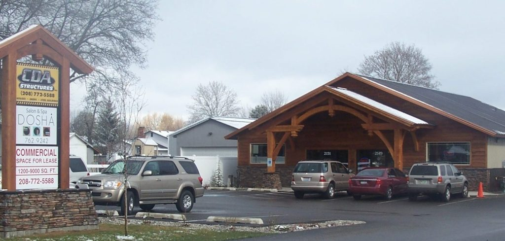 Cda Structures Located in Coeur d'Alene Idaho